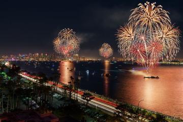 Regresa show de fuegos artificiales en la Bahía de San Diego en julio