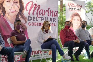 Marina del Pilar combatirá la corrupción