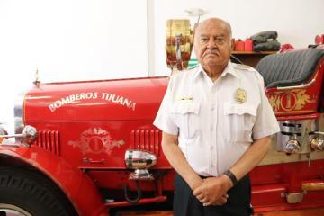 Eduardo Martínez Barajas promotes the modernization of the Fire...