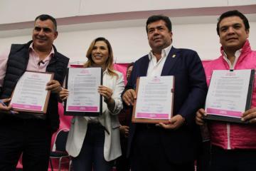 Marina del Pilar tiene el respaldo de Jorge Ojeda y Fuerza por México