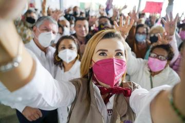Marina del Pilar pide tu voto para hacer realidad la Cuarta...