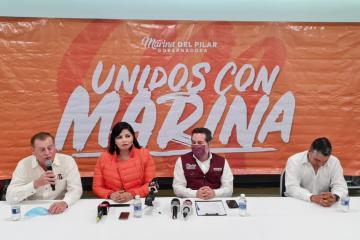 Integrantes de Movimiento Ciudadano se unen a Marina del Pilar