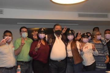 Ayuntamiento de Tecate respalda campaña de Jorge Hank Rhon