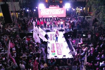 Marina del Pilar cierra campaña en Tijuana