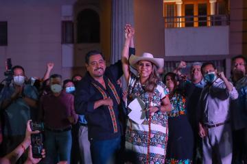 Evelyn Salgado gana la gobernatura de Guerrero