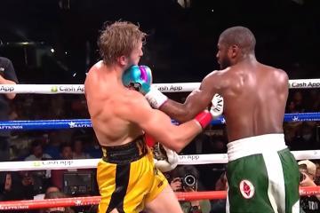 Floyd Mayweather vence en el ring al youtuber Logan Paul