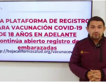 Vaccination: registration enabled for Baja Californians 18 years of...