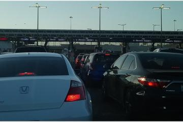 Construction of the Tijuana-San Diego toll gate will begin in July...