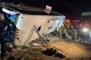 Cerca de 50 heridos por accidente de camión en Popotla
