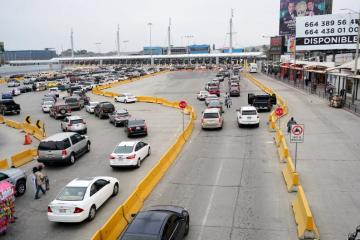 Reduced waiting times reported at border ports of entry, is CBP...