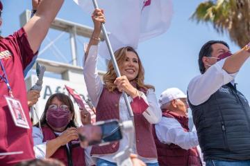 """Marina del Pilar afirma que su gobierno no tendrá """"revanchismos"""""""