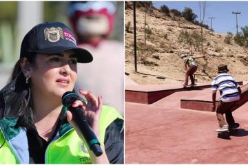 Mayor of Tijuana Karla Ruiz stands out for her support of sports...