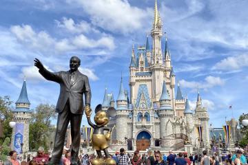 En Disney Florida no será obligatorio el uso de cubrebocas