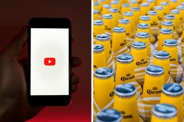 YouTube no permitirá anuncios sobre bebidas alcohólicas, apuestas...