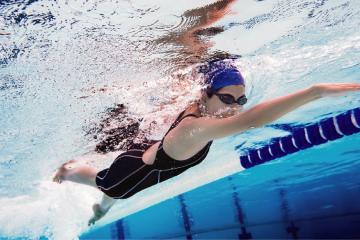 Reanuda IMDET clases de natación