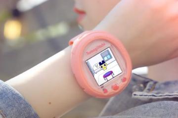 ¡Regresan los 90s! Tamagotchi lanza smartwatch