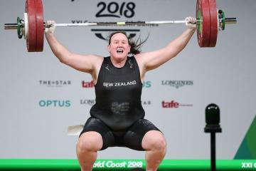Laurel Hubbard se convierte en la primera deportista transgénero...
