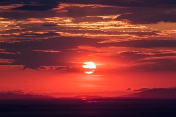 Luego del solsticio llegaron los días donde anochece hasta las 8 pm