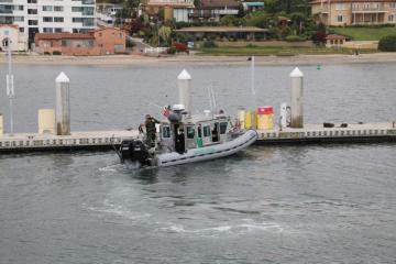 Patrullarán costa de San Diego con nueva unidad marina para evitar...