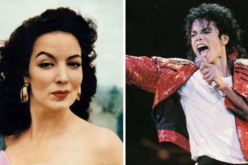 Viralizan video de María Félix cantando en concierto de Michael...
