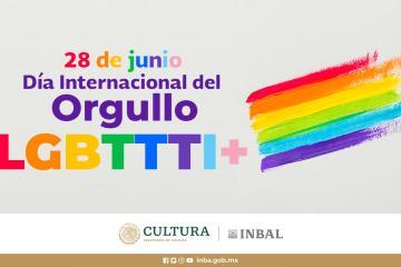 Conmemoran el Día Internacional del Orgullo LGBTTTI+