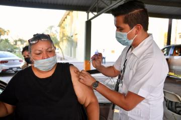 This Friday second doses of Pfizer will be applied in Tijuana and...