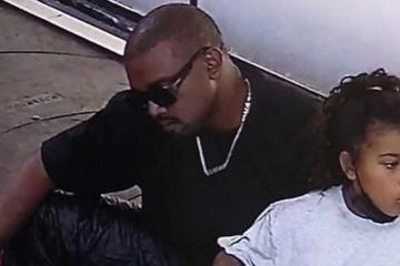 Kanye West es visto en Oaxaca