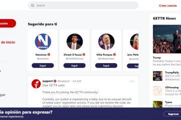 Hackean red social de Trump el día de su lanzamiento