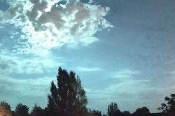 VIDEO: Meteorito entra a la Tierra causando enorme bola de fuego