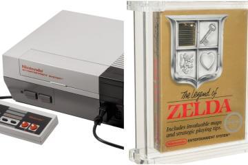 Ejemplar de Legend of Zelda para NES es subastado en 870 mil dólares