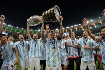Argentina vence a Brasil y convierte en campeón de la Copa América