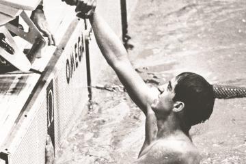 """""""Tirarle al Sol""""; 50 años después del oro en natación del..."""