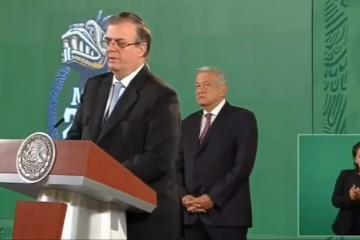 Ebrard agradece a AMLO por considerarlo como candidato a presidente...
