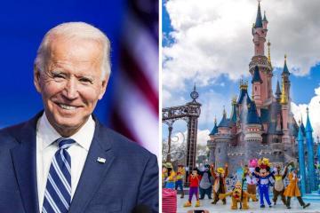 Joe Biden debutará como atracción de Disney en agosto