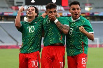 México golea a Francia en su debut en los Juegos Olímpicos de Tokio