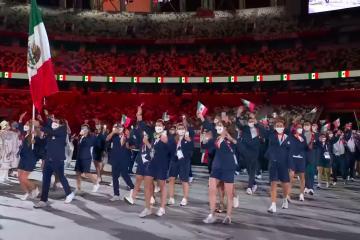 Emociona México en Inauguración de los Juegos Olímpicos de Tokio