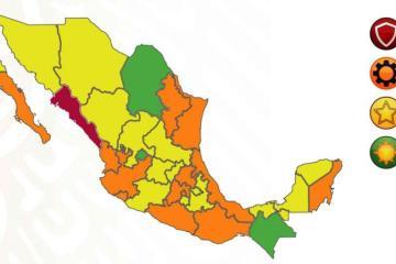 Semáforo Epidémico: México registra nuevo récord de contagios;...
