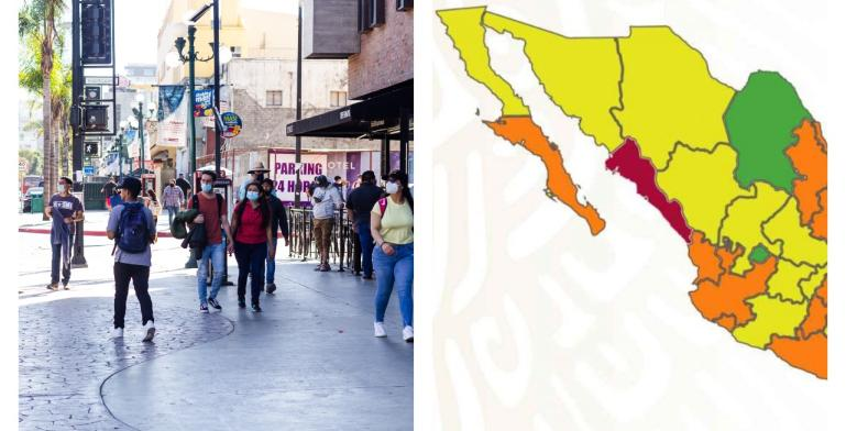 Baja California will remain under the green light, despite the...