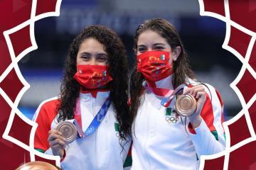 Clavadistas Ale Orozco y Gaby Agúndez consiguen bronce en salto...