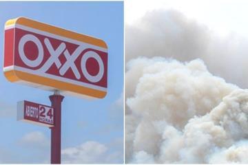 Individuo prende fuego a Oxxo en Playas de Tijuana