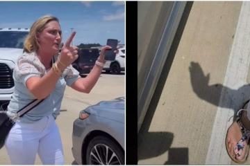 Mujer blanca insulta y golpea a familia latina en Texas