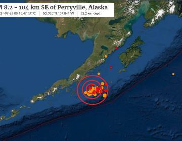 Sacude a Alaska terremoto de 8.1 grados