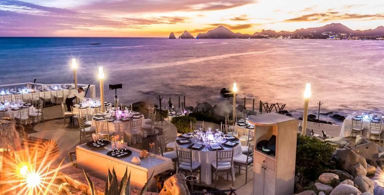 Sunset Monalisa: restaurante con la mejor vista en Cabo San Lucas