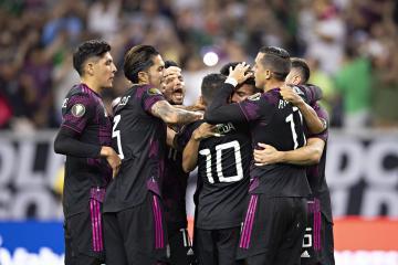 México vence a Canadá y va a la final de la Copa Oro
