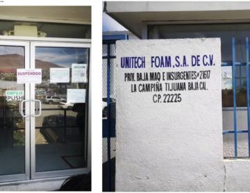 Suspenden a maquiladora en Tijuana con brote de contagios