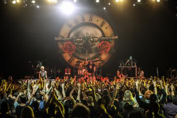 México vibrará con concierto de Guns N´ Roses en octubre