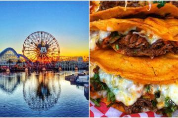 ¡Disney California tiene sus propios tacos y quesabirrias!