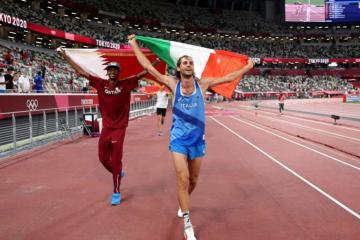 Tokio 2021: Atletas empatan y deciden compartir la medalla de oro