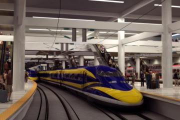 Tendrá San Diego tren de alta velocidad