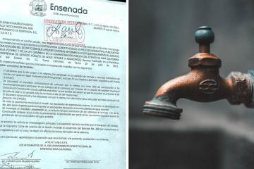 Ensenada is against the municipalization of the water system